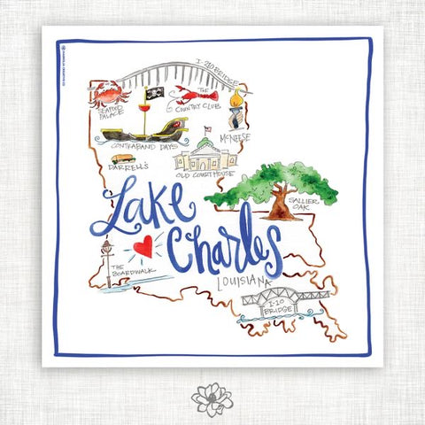 KITCHEN TOWELS-LAKE CHARLES