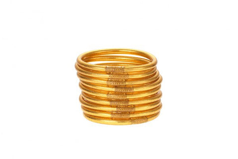 BUDHAGIRL BANGLES-SET OF 3-GOLD
