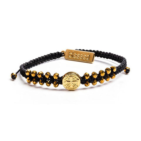 STAIRWAY TO HEAVEN BRAC-GOLD/BLACK