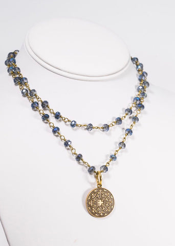 MARIE KATHERINE-NECKLACE VIGNETTE SOVEREIGN