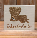 8X10 CANVAS LAKE CHARLES GOLD/LIGHT TAUPE