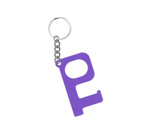 HANDS-FREE KEYCHAIN-PURPLE