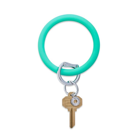 BIG O KEY RING-SILICONE-IN THE POOL