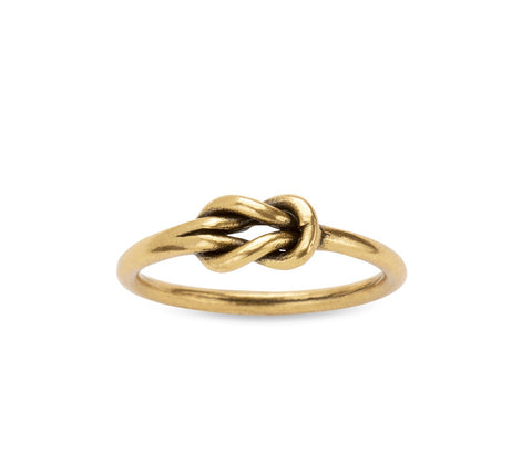 RING LOVERS KNOT GOLD