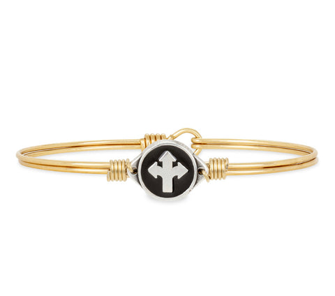 THE PATH YOU CHOOSE BRASS BRACELET