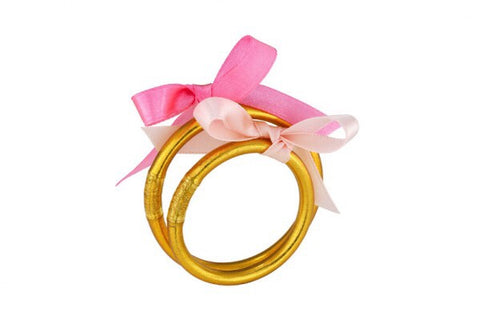 BABY ALL WEATHER BANGLES GOLD