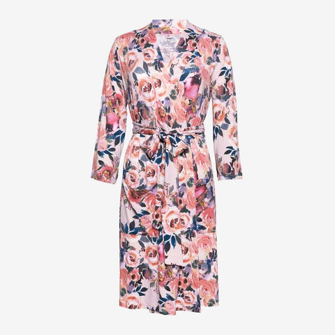 MOMMY DUSK ROSE ROBE