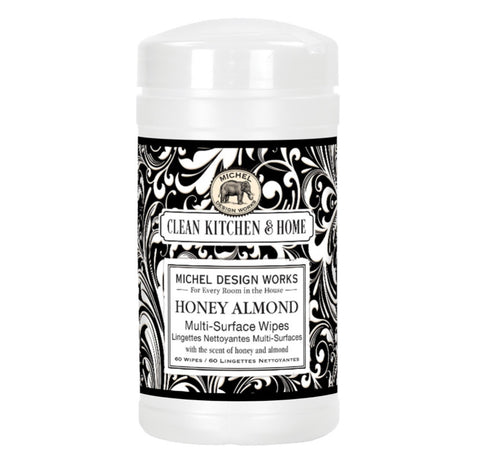 Honey Almond Multi-Surface Wipes