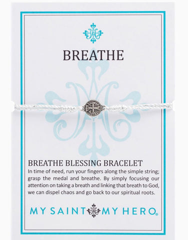 BREATHE-METALLIC SILVER WITH SILVER