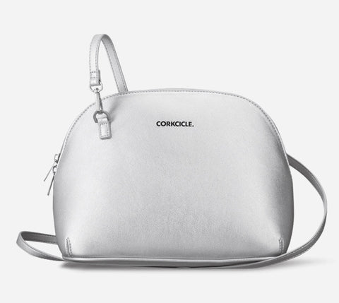 LUNCH BOX-ADAIR CROSSBODY-SILVER