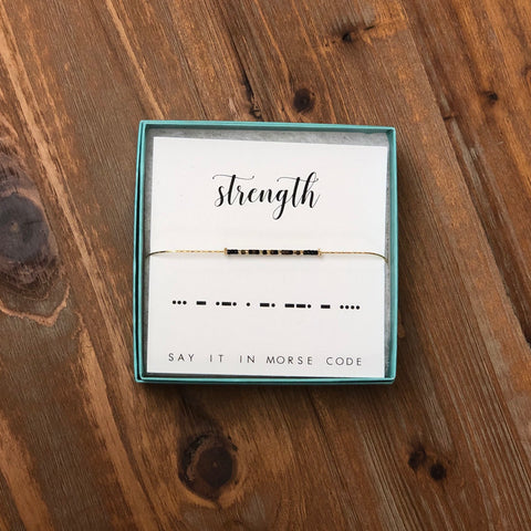 DOT & DASH BRACELET-STRENGTH