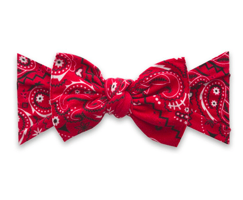 PRINTED HEADBAND-CHERRY BANDANA