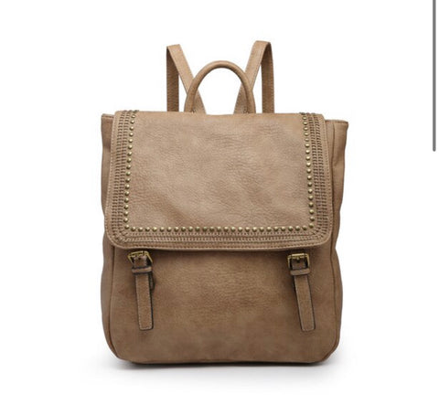 VALERIE BACKPACKS-TAUPE