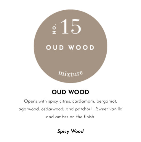 HARD SURFACE CLEANER-NO 15 OUD WOOD