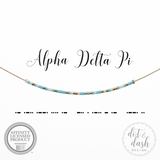 DOT & DASH-ALPHA DELTA PI