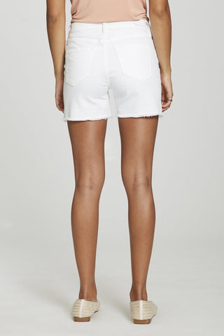DEAR JOHN JULIAN HIGHRISE SHORT OPTIC WHITE