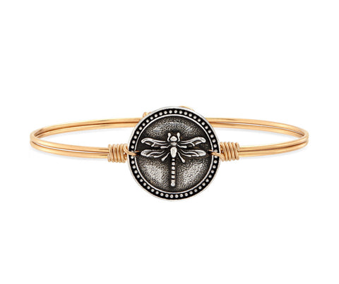 DRAGONFLY BRASS BANGLE SMALL