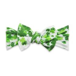 PRINTED HEADBAND-LUCKY CLOVER