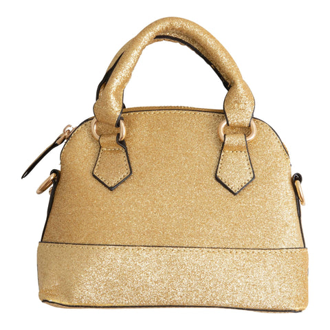 GIRL'S PURSE-GOLD GLITTER