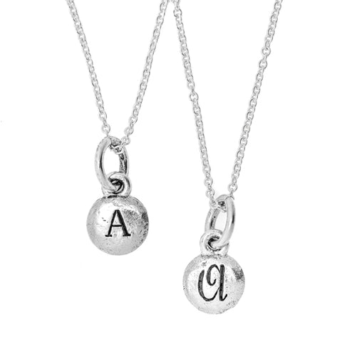 Tiny Monogram 2 - Sided Necklace