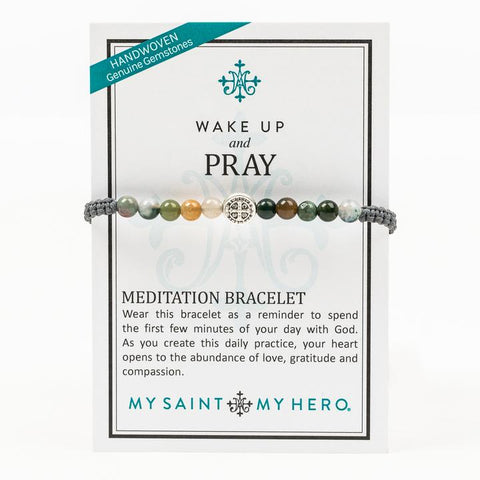WAKE UP AND PRAY-SLATE/AGATE/-SILVER