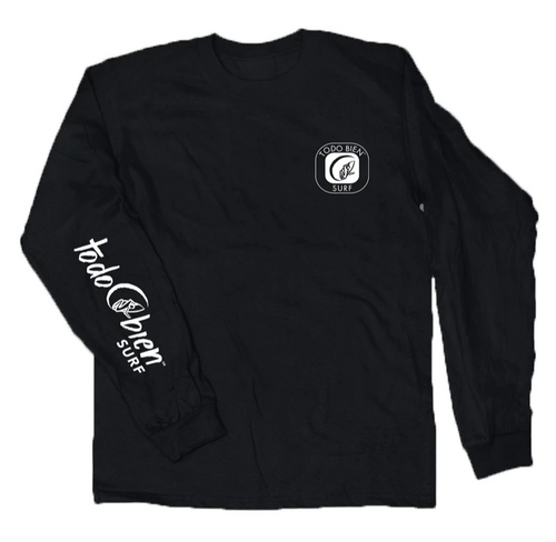 Todo Surfer Emblema Long Sleeve