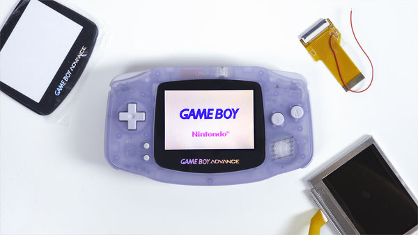 Backlit Game Boy Advance (AGS-101 mod)