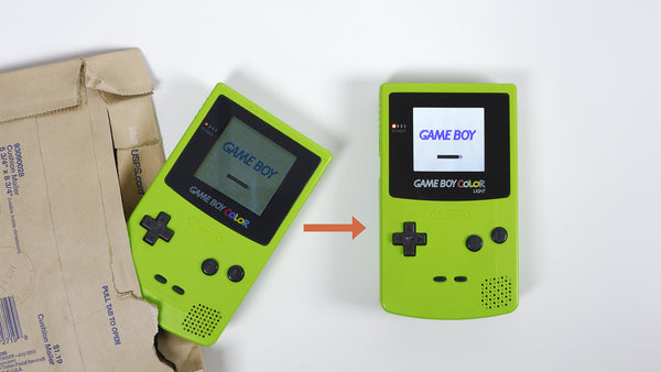 *Waitlist* Send in your GBC for Backlighting – Backlight Mod (AGS-101)