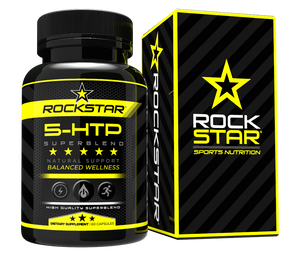 Rockstar 5 HTP Vegetarian Capsules Superblend With Schisandra and More, 60 capsules