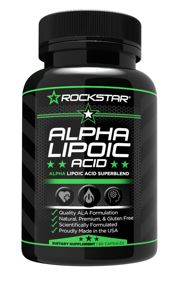 Alpha-Lipoic Acid, Non-GMO, Gluten Free, All-Natural, Vegan, 120 Veggie Caps