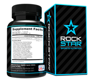 CLA Diet Pills by Rockstar, Conjugated Linoleic Acid Plus More, Superblend