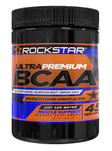 Rockstar BCAA Branched Chain Essential Amino Acids Nutritional Supplement Drink Mix Powder by Rockstar