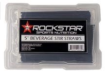 Rockstar Beverage Stir Straws - 200 Count