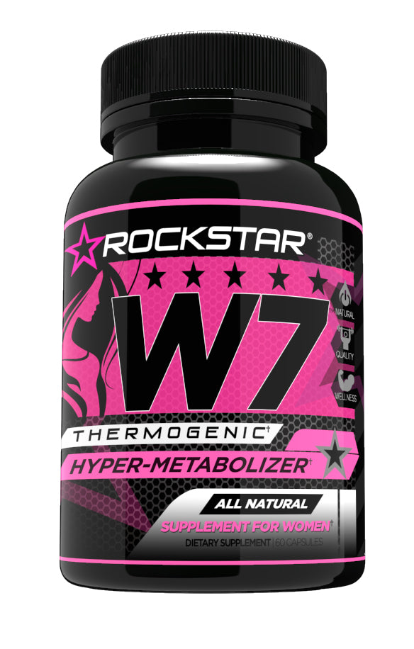 W7 Thermogenic Diet Pill, Weight Loss Pills for Women by Rockstar