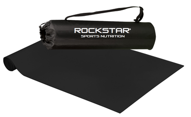 Rockstar Sports Nutrition Yoga Mat