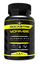 Rockstar Yohimbe Dietary Supplement Superblend, 60 Capsules