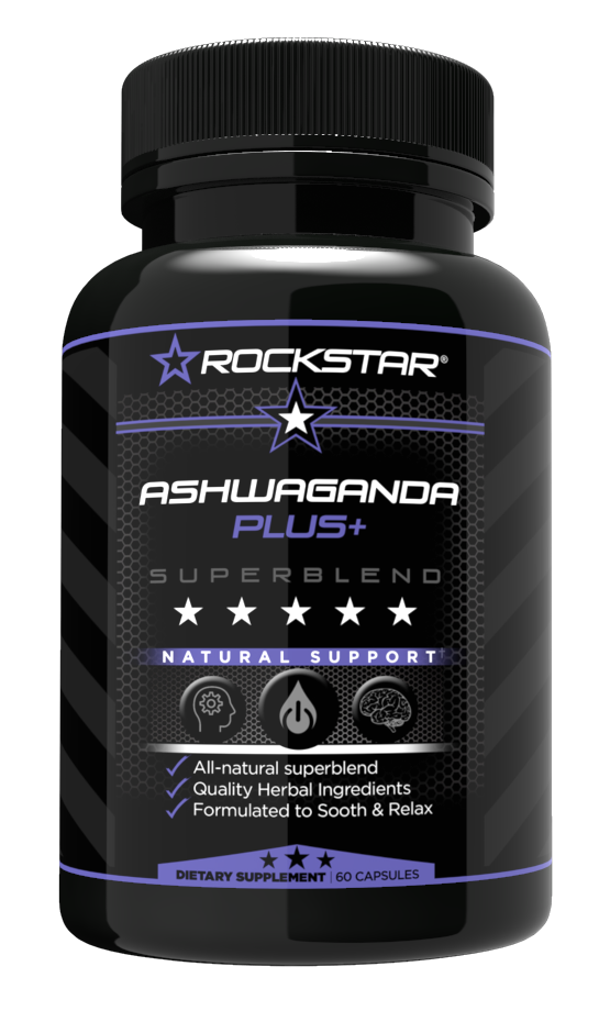 Rockstar Premium Ashwagandha Extract Formula- Natural Support – With Artichoke and more