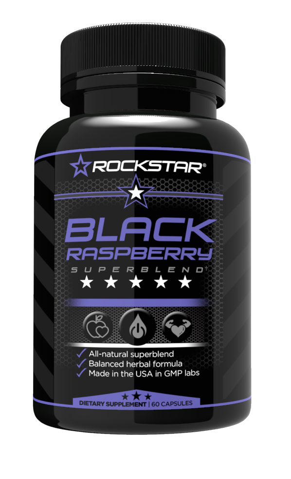 Black Raspberry Superblend Supplement, by Rockstar