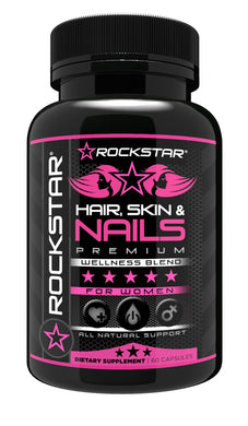 Hair, Skin, Nails Natural Dietary Supplement by Rockstar