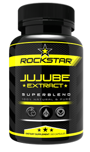 Rockstar Jujube Dietary Supplement Superblend, 60 Capsules