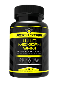 Rockstar Wild Mexican Yam Dietary Supplement Superblend, 60 Capsules