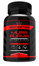 Rockstar Muira Puama Dietary Supplement Superblend, 60 Capsules