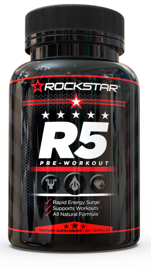 R5 Pre-Workout Pills by Rockstar