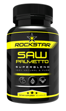 Rockstar Saw Palmetto Dietary Supplement Superblend, 60 Capsules