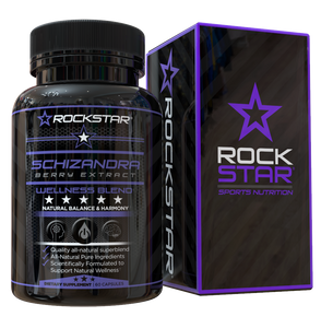 Rockstar Schizandra Dietary Supplement Superblend, 60 Capsules