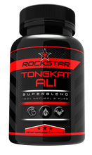 Rockstar Tongkat Ali Dietary Supplement Superblend, 60 Capsules