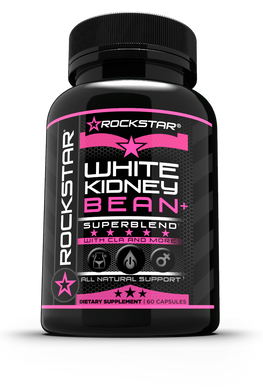 White Kidney Bean Extract Supplement For Women, Pills by Rockstar 100% Pure Extract Carb Blocker, Block Starch, Fast Weight Loss Formula - Lose Belly Fat & Suppress Appetite Naturally, Boost Metabolism, Weight Loss Pills for Women and Men, 60 Veggie Caps