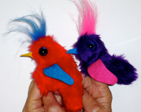 2 Little Dickie Birds (Finger Puppets) Rhyme Pack