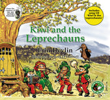 'Kiwi and the Leprechauns' Book/Song CD & Kiwi Finger Puppet Pack.  Book written by Erin Devlin.  Illustrations and music by Greg O'Donnell of New Frontier Records.  Kiwi finger puppet by Erin Devlin