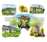 'Kiwi and the Leprechauns' - Book & Song CD by Erin Devlin of The Kiwi Puppet Company & Greg O'Donnell of New Frontier Records